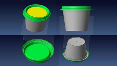 Rendering 3D del prodotto